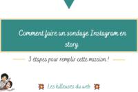 Comment faire un sondage Instagram en story : 3 étapes!